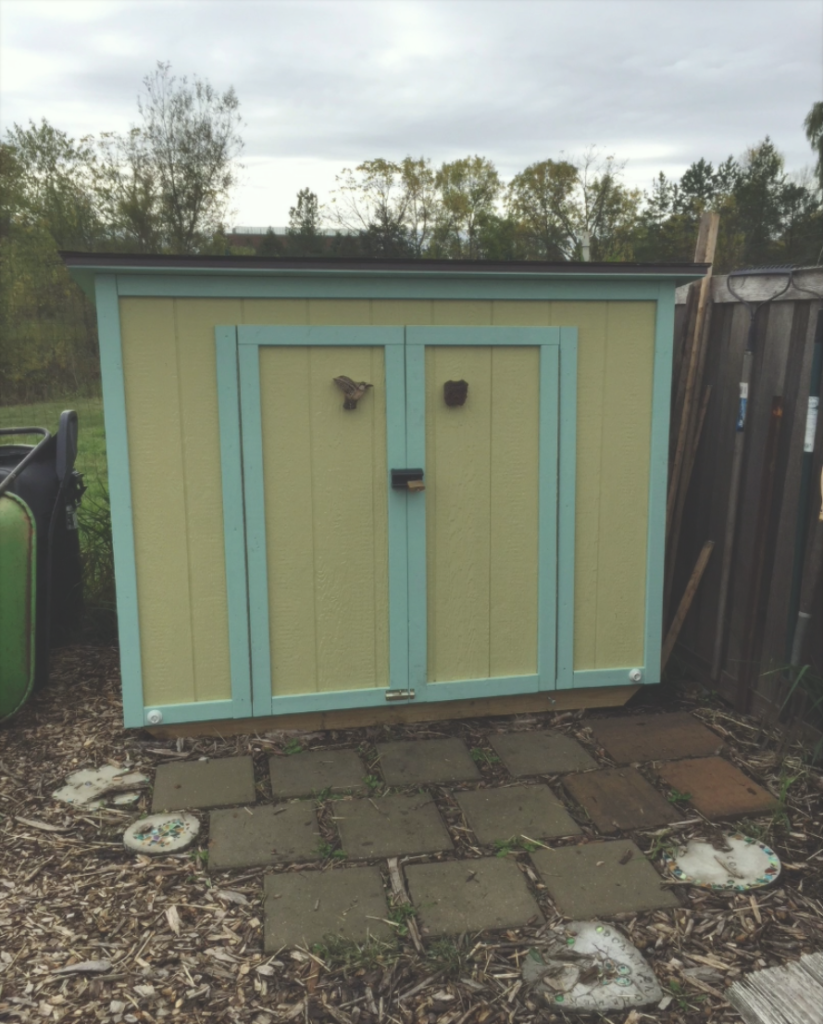 New shed Spring 2017